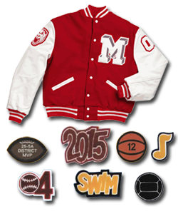 Balfour Letter Jackets and Patches