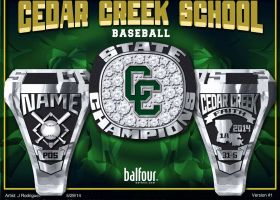 Cedar Creek School BSBL 2014